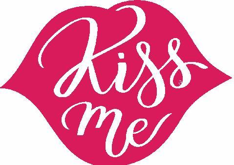 Kiss Me Embroidered Iron On Patch - EH Patches