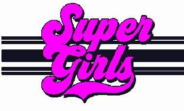 Super Girls Embroidered Iron On Patch - EH Patches
