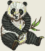 Lade das Bild in den Galerie-Viewer, Panda Embroider Iron On Patch - EH Patches