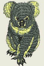 Load image into Gallery viewer, Koala 2 Embroider Iron On Patch - EH Patches