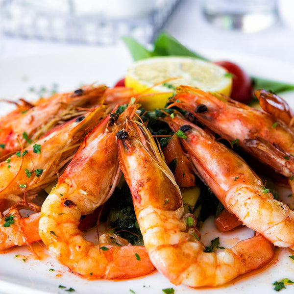 Mozambican White Whole Prawns