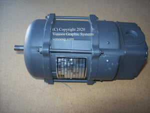 Delivery Suction Drum Motor for HEIDELBERG S-Series SORMZ ; Antriebstechnik ; VHD-66.112.501