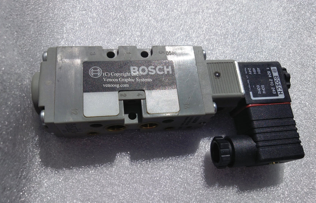 Solenoid 5/2-WAY VALVE for HEIDELBERG SM102 CD102 ; VHD-98.184.1041`; HD-61.184.1041 ; HD-M2.184.1171