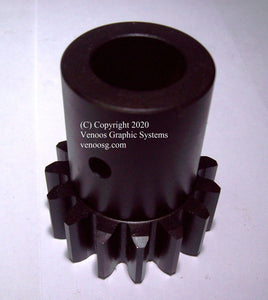 Delivery Carriage Pinion Gear for Heidelberg Cylinder presses ; HD-03.014.062 ; S1462