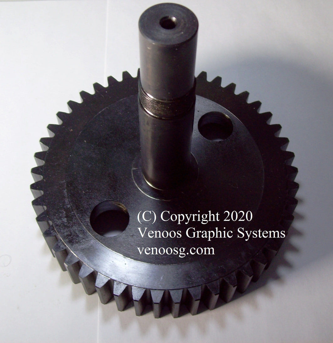 Feeder Drive Gear And Shaft for Heidelberg Cylinder press ; VHD-S1650