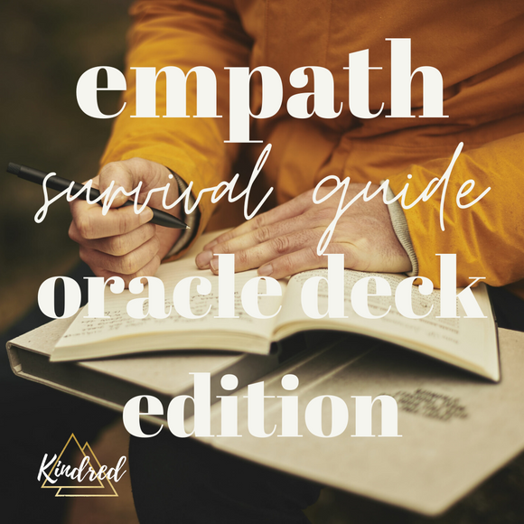 Ultimate Empath Survival Guide Oracle Deck Edition