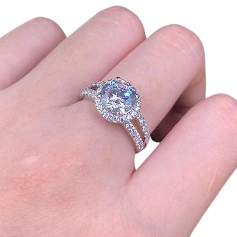 LUX 2ct Zirconia Solitaire Ring