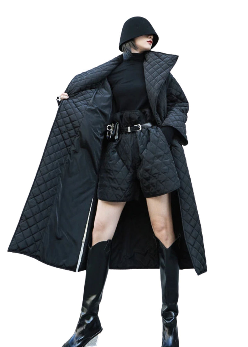 MYSTIC Black Long Coat