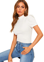 Always Ready Puff Sleeve Top