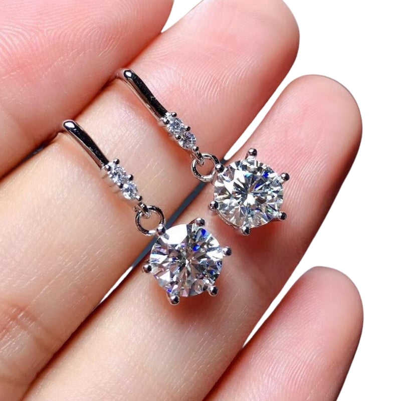 Classic Diamonds Forever Stud Earrings (50% OFF)