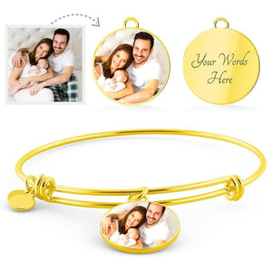 Customized Circle Bangle