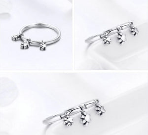 CUTE PAWS Silver Ring
