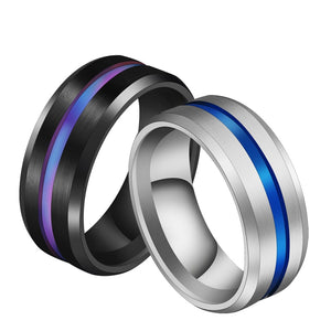 Groove Blue Ring