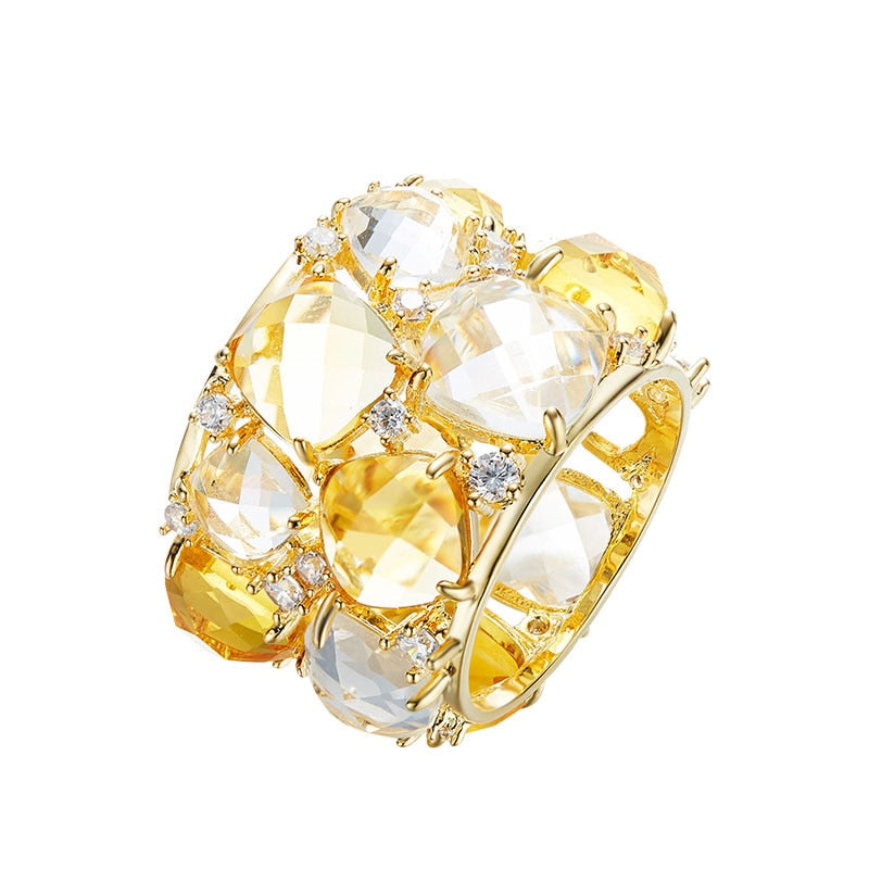 Royalty Vibes Rhinestone Ring