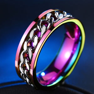 Purple Chromatic Ring