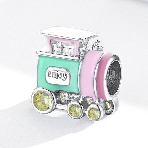 COLORFUL TRAIN Charm