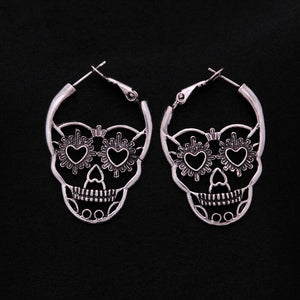 Punk Party Skeleton Earrings