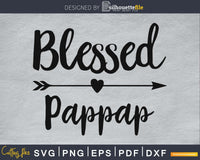 Blessed Pappap SVG Cutting print-ready file