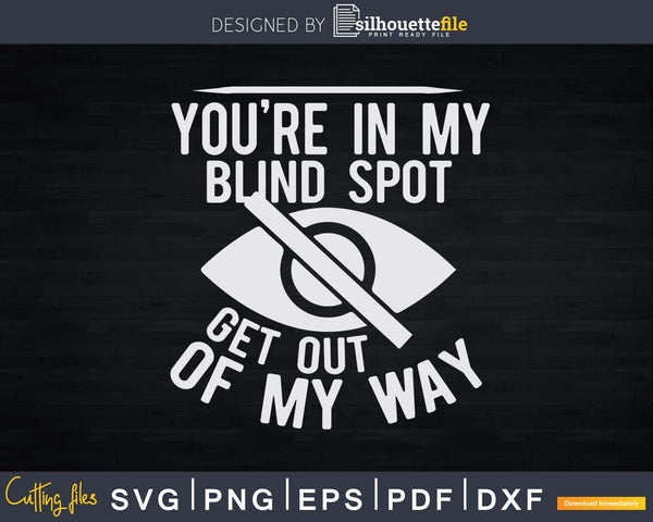 Blindness Gift For Blind People Braille Svg Png Instant Cut