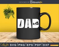 Carpenter Tools Best Daddy Papa Cool Father's Day Svg Design