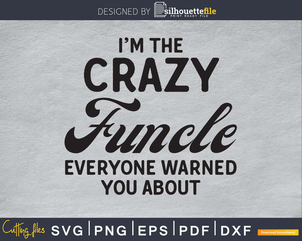 I'm the crazy funcle everyone warned you about svg png