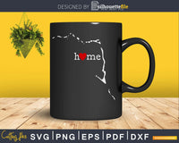 Marshall Islands MH Home Heart Native Map svg cricut cut