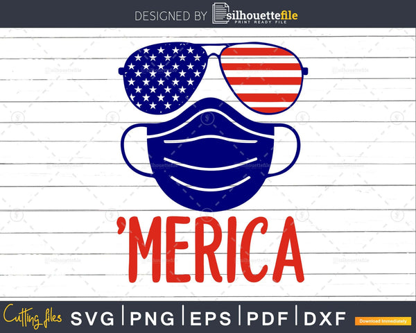 'Merica 4th of July Patriotic Svg Files for Cricut