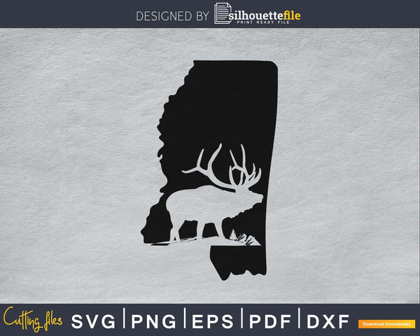 Mississippi Deer Hunting Map