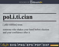 Politician definition avg printable file