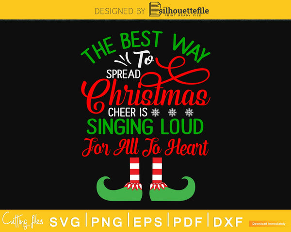the best way to spread christmas svg for cricut craft cut files