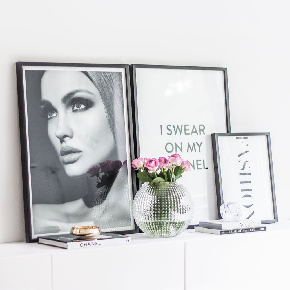 Poster Store Obsession + Chanel + Fashion Affisch Styling