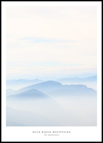 Blue Ridge Mountains Poster