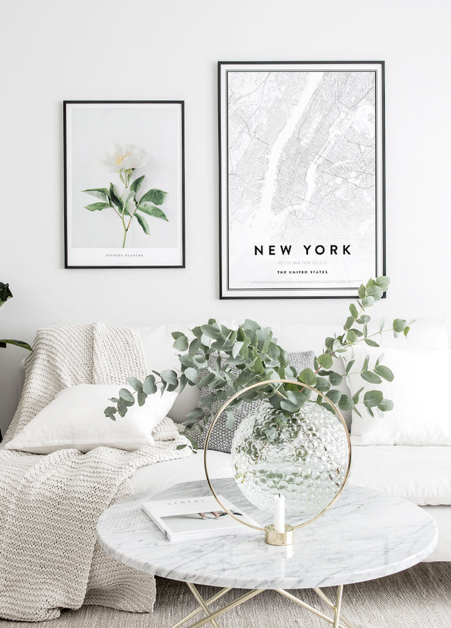 70x100 poster, map of new york poster, stora posters