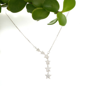Star Long Pendant Necklace