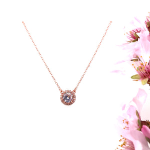 Round Bezel Necklace
