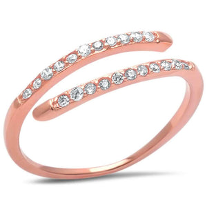 Open Band Rose Gold