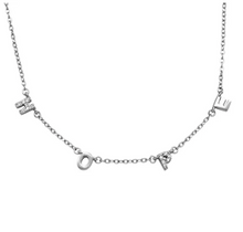 Load image into Gallery viewer, Hope Necklace -Silver, Rose Gold, Yellow Gold