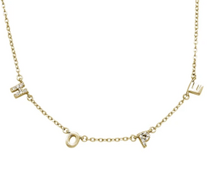 Hope Necklace -Silver, Rose Gold, Yellow Gold