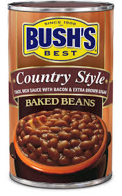 Canned Baked Beans - Country Style