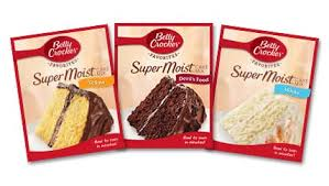 Betty Crocker Cake Mix