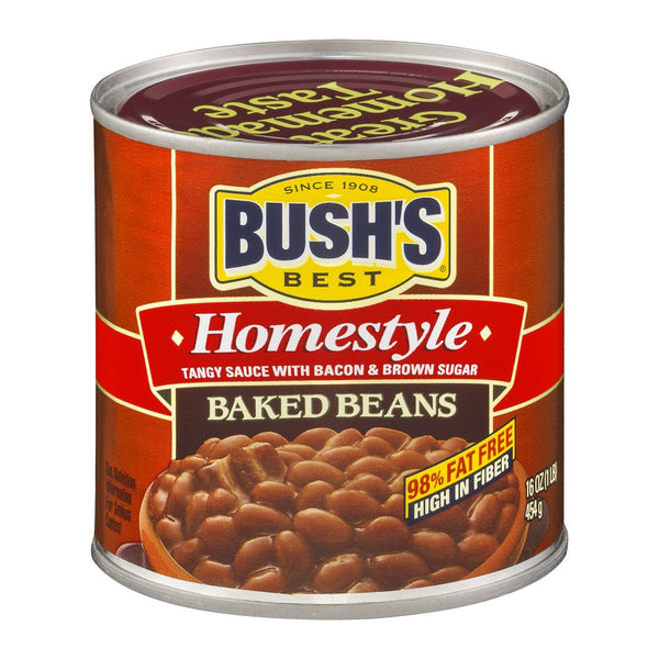 Canned Baked Beans - Home Style 16oz