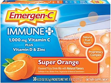 Emergen-c 1000mg Vitamin C + Zinc