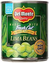 Canned Lime Beans
