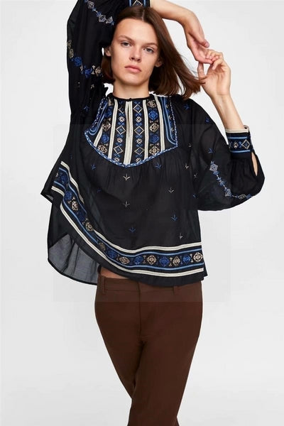 blouse chemisier hippie 1