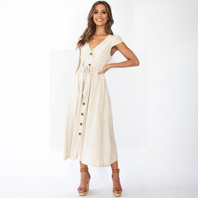 robe blanche hippie ceremonie