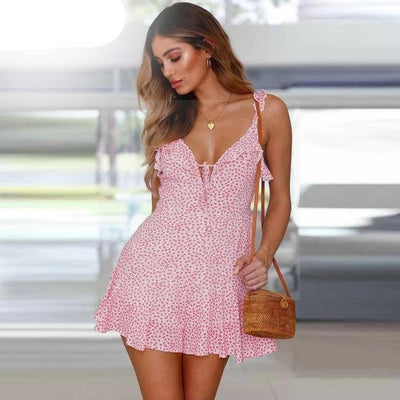 robe hippie chic corail