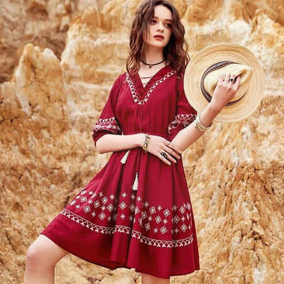 robe hippie chic ete 2021