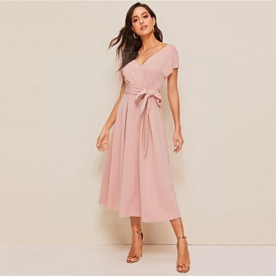 robe hippie rose