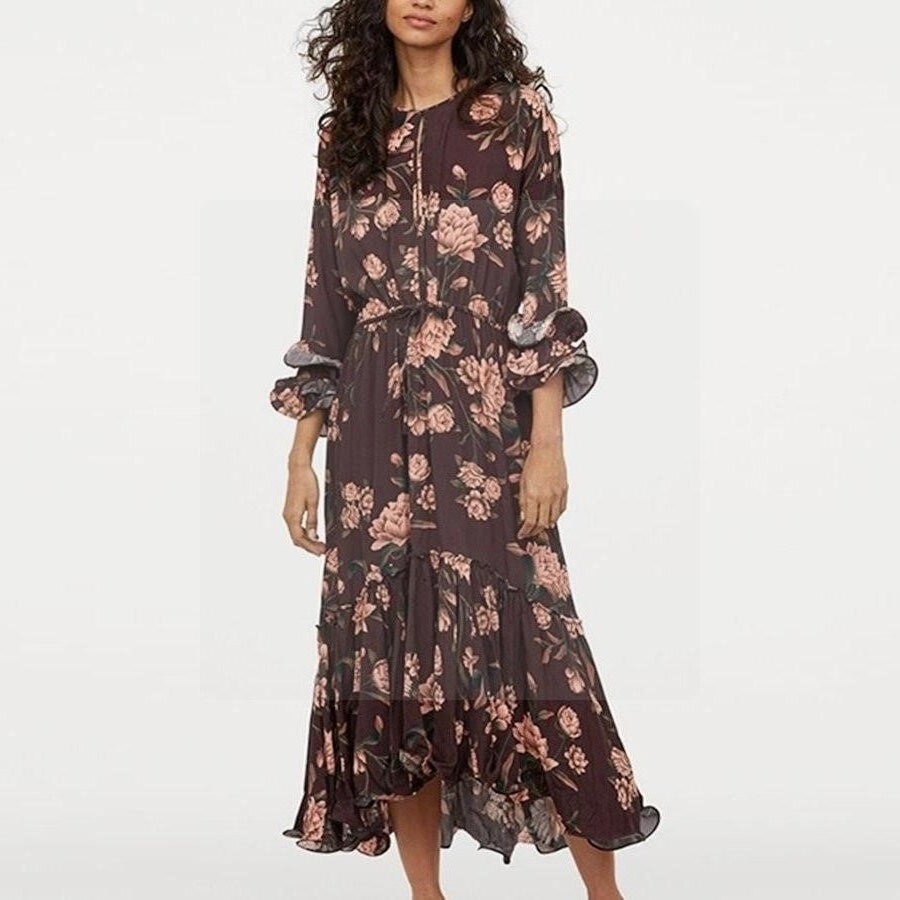 robe longue hippie chic hiver