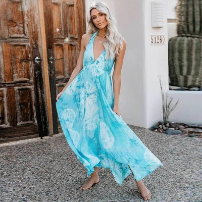 robe style hippie longue chic